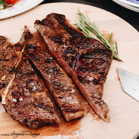 Т-боун стек USA Nebraska Black Angus Special Selection